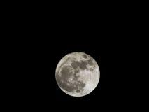 Luna piena eccellente Fotografie Stock Libere da Diritti