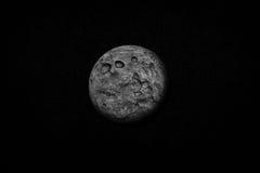 Luna piena nello spazio Fotografie Stock