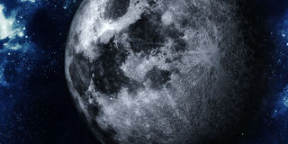 Luna realista stock de ilustración