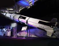 Luna Rocket, exploración de luna, astronáutica Fotografía de archivo libre de regalías