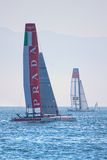 Luna Rossa Swordfish and China Team Stock Photography