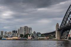 Luna schronienia i parka most, Sydney Australia Zdjęcia Royalty Free