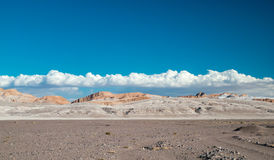 Luna Vall i San Pedro de Atacama Arkivfoto