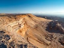 Luna Vall i San Pedro de Atacama Arkivfoton