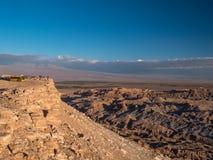 Luna Vall in San Pedro de Atacama Lizenzfreies Stockfoto