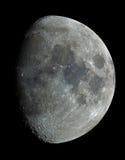 Luna vieja de nueve días Fotos de archivo libres de regalías