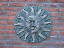 Luna y sol Fotografía de archivo libre de regalías