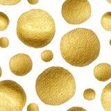 Lunar del oro del modelo Fotografía de archivo