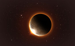 Lunar eclipse Royalty Free Stock Image