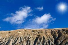 Lunar landscape Royalty Free Stock Image