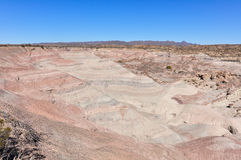 Lunar landscape in the Ischigualasto National Park, Argentina Stock Image