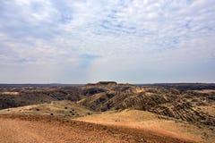 Lunar landscape, Namibia Stock Photography