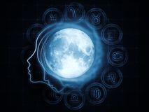 Lunar Magnetism Royalty Free Stock Image