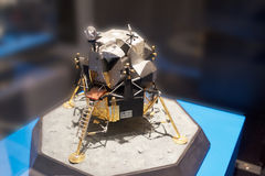 Lunar Module. Scale model of Lunar Module Stock Image