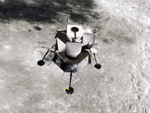 Lunar Module. The Apollo Lunar Module was the lander portion of the Apollo spacecraft Royalty Free Stock Images