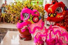 Lunar new year Asian dragon coming vietnamese new year Stock Photo