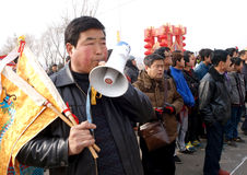 The lunar New Year celebration in 2013 Stock Photo