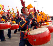 The lunar New Year celebration in 2013 Stock Photos