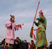 The lunar New Year celebration in 2013 Royalty Free Stock Images