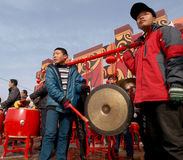 The lunar New Year celebration in 2013 Royalty Free Stock Photo