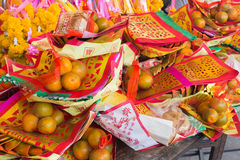 Lunar New Year decorations Royalty Free Stock Photo