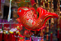 Lunar new year decorations stock photos
