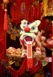 Lunar New Year Good Fortune Lion Decoration. Stock Photo