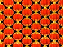 Lunar New Year's Lanterns Stock Photography