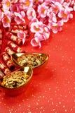 lunar nytt år för kinesisk garnering arkivbild