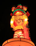 lunar nytt tematiskt år 2011 för utställninglykta Royaltyfri Fotografi