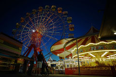 Lunar Park in Sydney Australia Royalty Free Stock Photography
