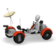 Lunar rover Royalty Free Stock Photo