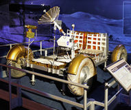 Lunar Rover Model, Moon Exploration, Astronautics Stock Image