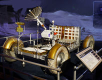 Lunar Rover Model, Moon Exploration, Astronautics Royalty Free Stock Photography