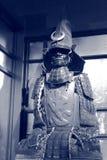 Lunar samurai Royalty Free Stock Image