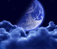 Lunar sky Royalty Free Stock Images