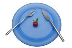 Lunch 5 van het dieet stock foto's