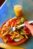 lunch Obrazy Royalty Free