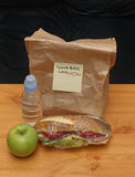 Lunch bag Royalty Free Stock Images