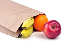 Lunch bag - path Stock Images