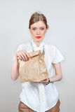 Lunch bag Stock Image
