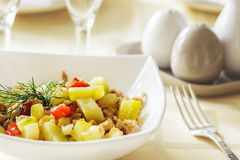 Tasty healthy and healthy food Stock Images