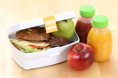 Lunch box Royalty Free Stock Photo