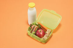Lunch box Stock Images