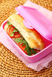 Lunch box Stock Image