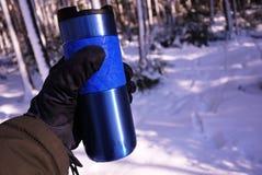 Thermal mug royalty free stock photo