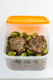 Lunch box. Royalty Free Stock Photo