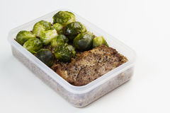 Lunch box. Royalty Free Stock Photography