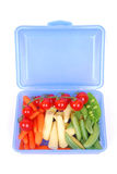 Lunch box with healthy food Stock Photos