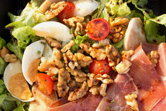 Lunch Box Salad Royalty Free Stock Images